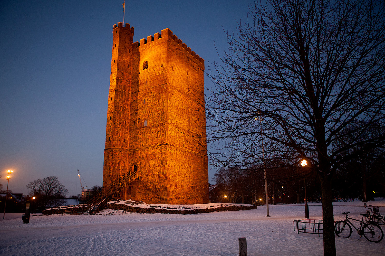 Kärnan i Helsingborg 5 februari