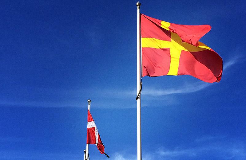 Skånska flaggan